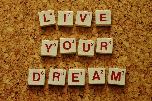 Live your dream confidence