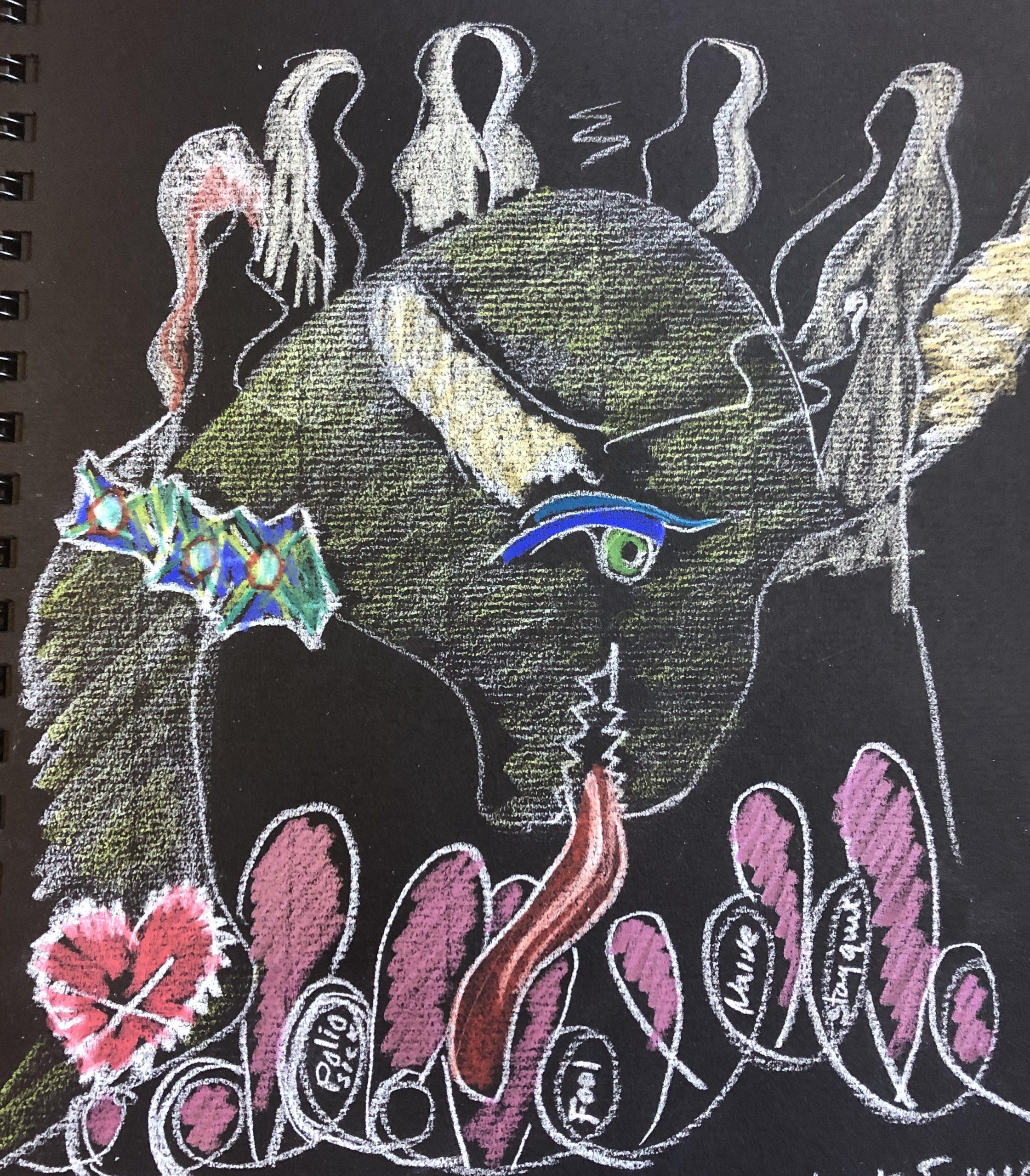 Intuitive Drawing - Roberta