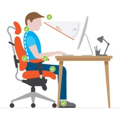 Office Chair For Lower Back Pain Covers At Big Lots How To Properly Sit In Front Of A Computer – Mastering Typing