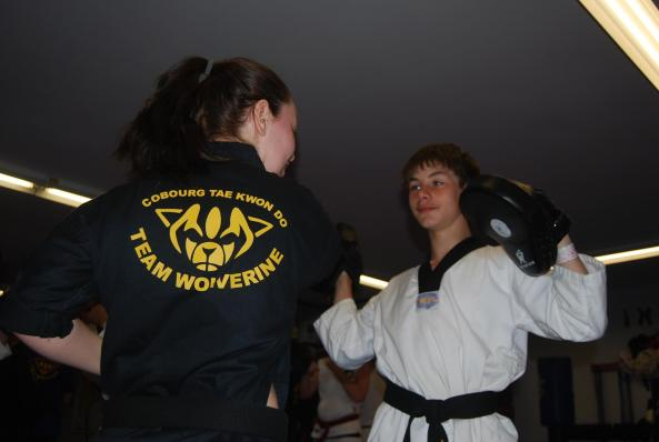 5 black belt grading 2014 cobourg tae kwon do