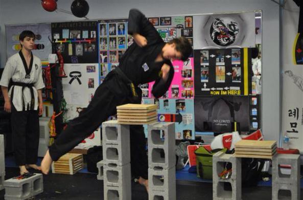 four 2014 black belt grading cobourg tae kwon do