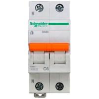 Автоматический выключатель Schneider Electric Домовой 1P+N 6А (C) 4.5кА