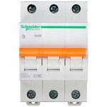 Автоматичний вимикач Schneider Electric Домовий 3P 16А (C) 4.5кА