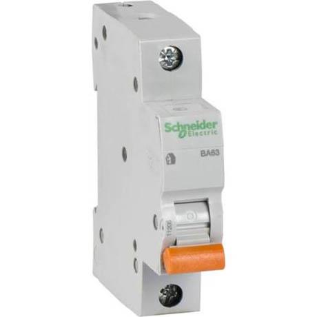 Автоматичний вимикач Schneider Electric Домовий 1P 25А (C) 4.5кА