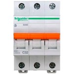 Автоматичний вимикач Schneider Electric Домовий 3P 32А (C) 4.5кА