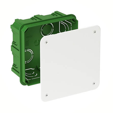 Коробка Schneider-Electric Розподільна для суцільних стін 100×100х50