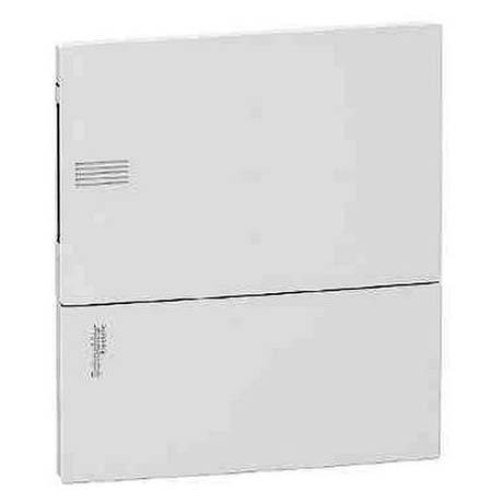 Розподільна шафа Schneider Electric MINI PRAGMA 8 мод., IP40, вбудована, пластик, білі двері, з клемами