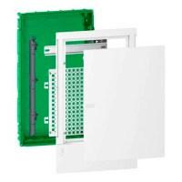 Щит мультимедійний Schneider Electric MINI PRAGMA 12 мод., IP40, вбудований, Пластик, білі двері