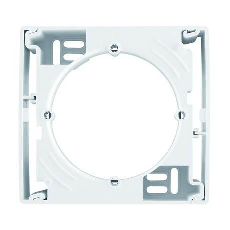 Коробка Schneider-Electric Asfora для зовнішнього монтажу біла