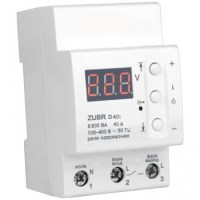 Реле контролю напруги DS Electronics ZUBR 40A з термозахистом