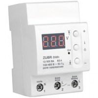 Реле контроля напряжения DS Electronics ZUBR 50A с термозащитой