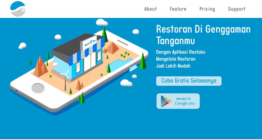 Aplikasi Penjualan Kasir Gratis Restoku