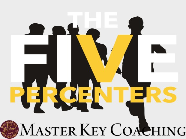The Five Percenters Are the Ones Who Win