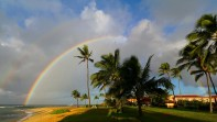 Aloha! We are born for a higher destiny than that of earth. There is a realm where the rainbow never fades, where the stars will be spread out before us like islands that slumber on the ocean and where the beings that now pass before us, like shadows, will stay in our presence forever. ~ Bulwer-Lytton