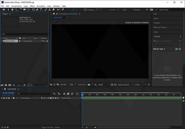 Adobe After Effects License key