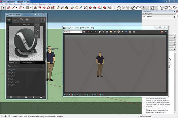 VRay Next for SketchUp Full Version
