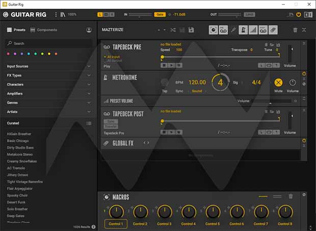 Native Instruments Guitar Rig Crack With Serial key Download