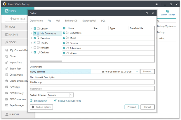 Download EaseUS Todo Backup 11 serial number