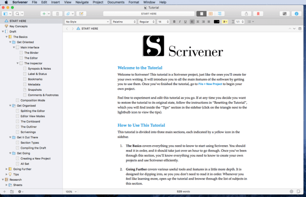 Scrivener Licence key Full Version