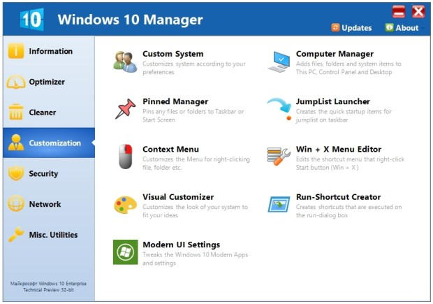 Yamicsoft Windows 10 Manager Licence key Free Download