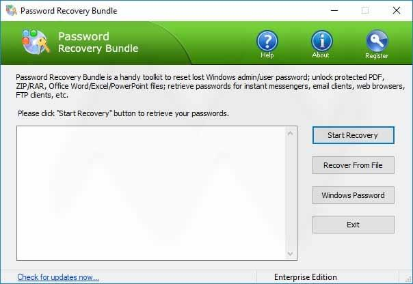 Password Recovery Bundle Crack Download