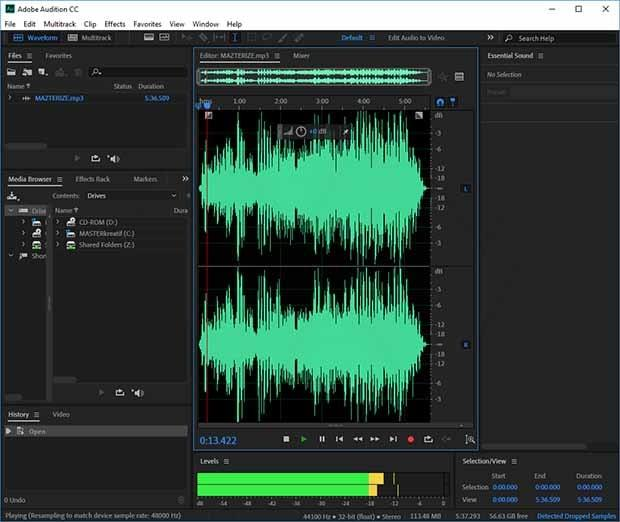 Adobe Audition CC Crack For Mac Serial Key Download