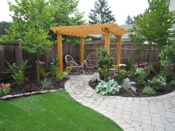 small backyard makeover srp enterprises'