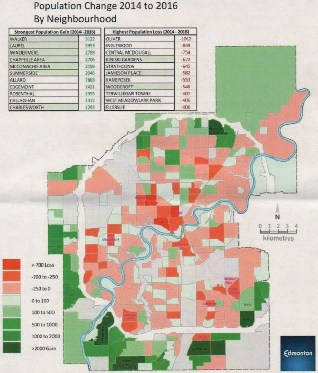 2016 census by neighbourhood