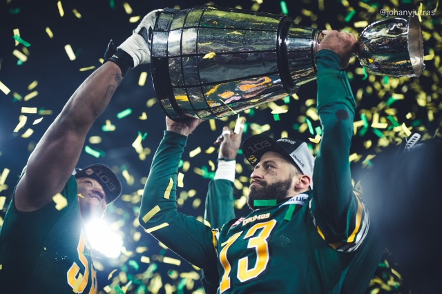 Eskimos win the Grey Cup