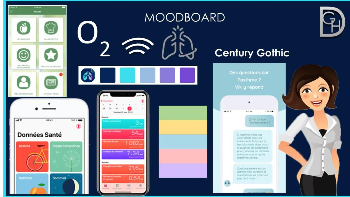 Moodboard projet digital 3 prime