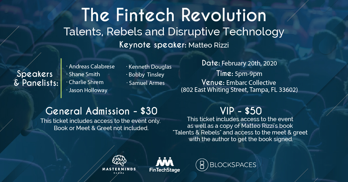 The Fintech Revolution @ Embarc Collective