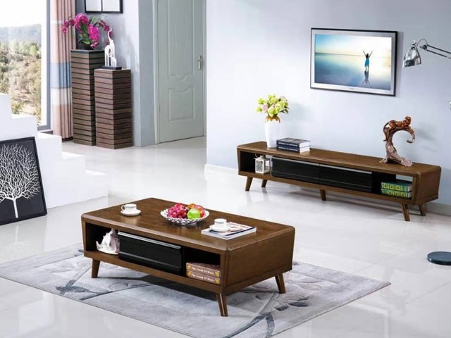 meuble tv t603 23 5 43 30 table basse a603 133 73 30 noir blanc