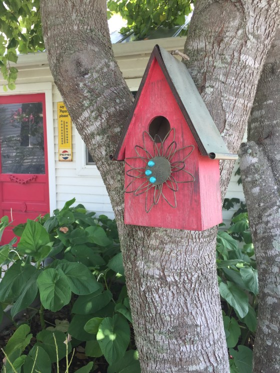 red_birdhouse