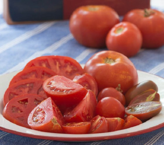 Magnolia Hill Farm produces almost a ton of succulent, organic tomatoes every season