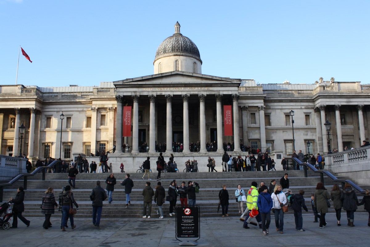 The National Gallery Trafalgar Square London