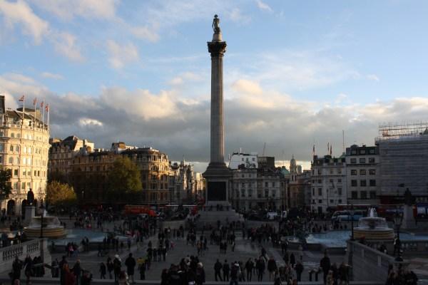 Trafalgar Square Reason Sit Massive Lion