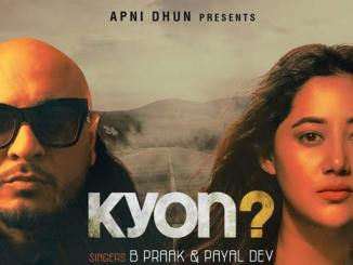 Kyon Lyrics by B Praak