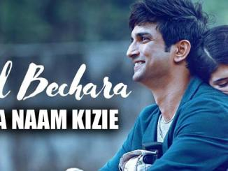 Mera Naam Kizie Lyrics from Dil Bechara