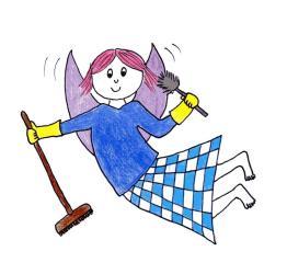 fairy kitchen magic cleaning kitchens parenting housework masterofsomethingyet