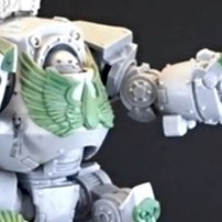 Librarian Contemptor Dreadnought