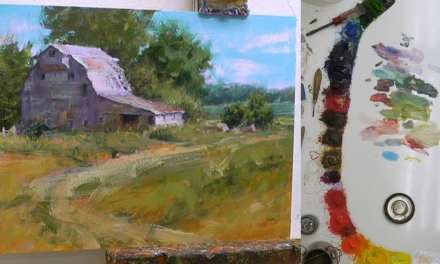 How to Paint a Stoic Barn Scene in 5 Steps