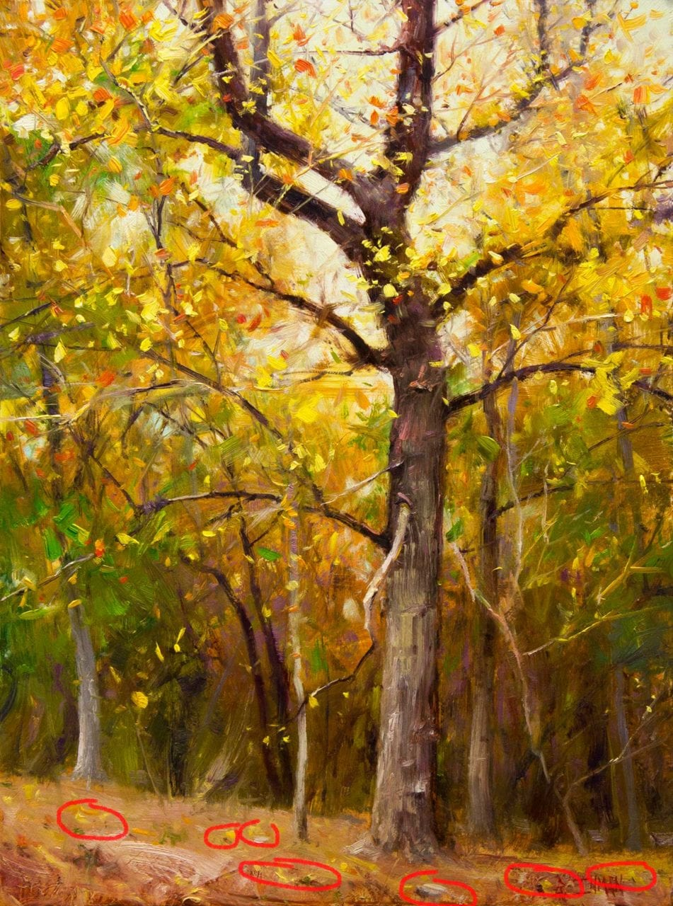 Foliage Painting : foliage, painting, Paint, Fallen, Leaves, Easier, Quicker, Master, Painting