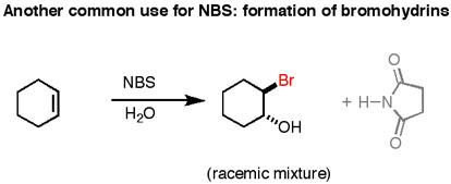 An introduction to NBS (N-bromo succinimide) as a reagent