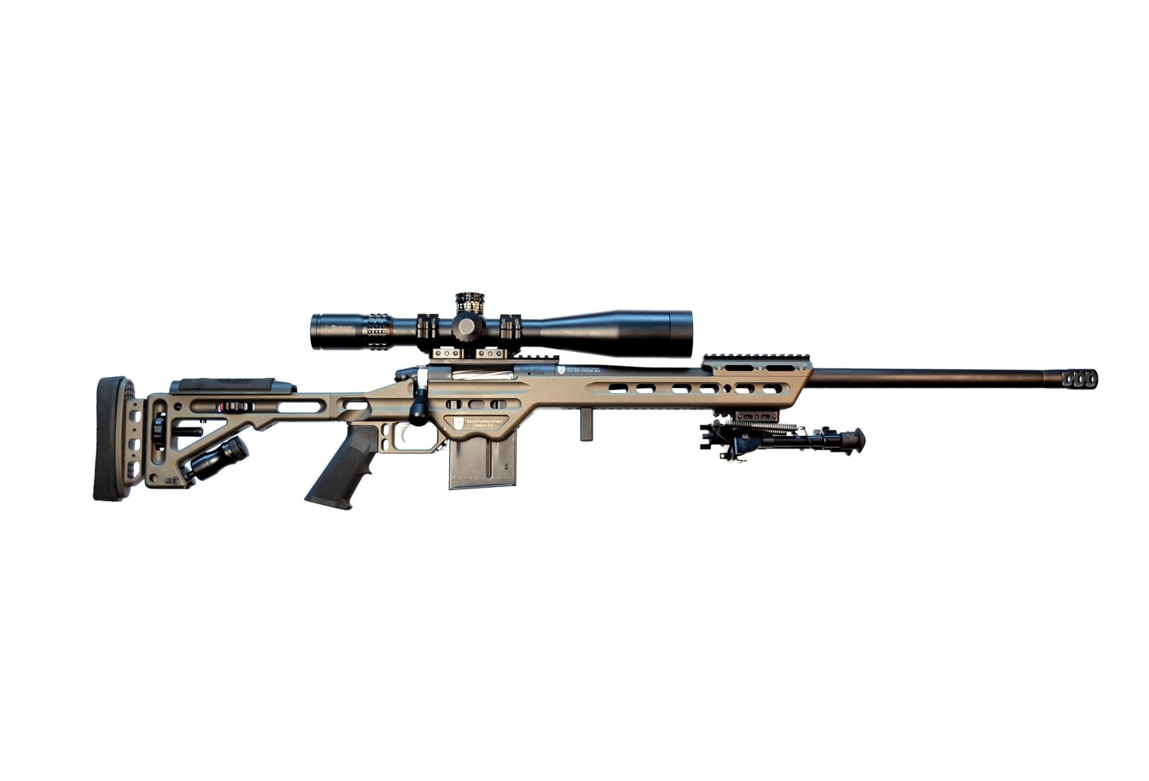 MPA 338BA Bolt Action Rifle - MasterPiece Arms, Inc