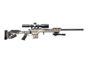 BA Rifle with Optional Bipod, MPA BA Mount and Bushnell Optic