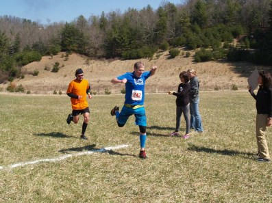 Thomas Sharkey: 2nd Place Overall Male Finishing
