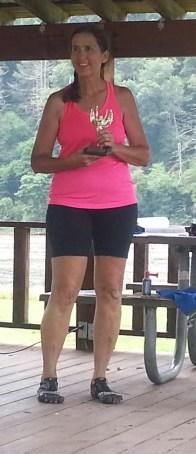 Bonnie Harrington 1st place 50 -49 age group