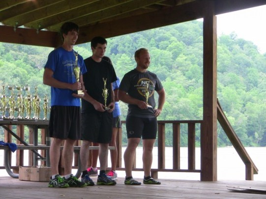 First place overall Male winner: Jacob Haynes, second: Kevin Jarvis, third: Dustin Shew