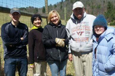 Brian Miller, Karen Porter, Tori Lindberg, Mike Hutchison, and Agape McPherson are some of the great volunteers who make it all happen.