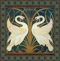 Walter Crane Swan Rush And Iris  Masterpieces Of Art